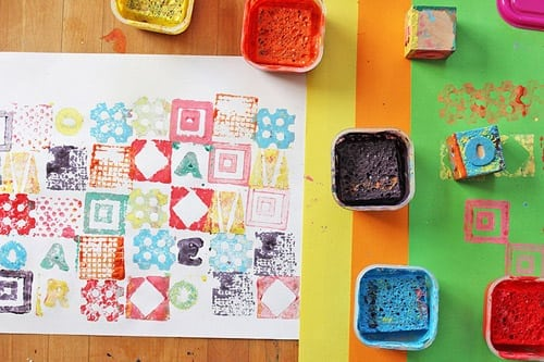 Kids in the Courtyard: Stamp It Up!