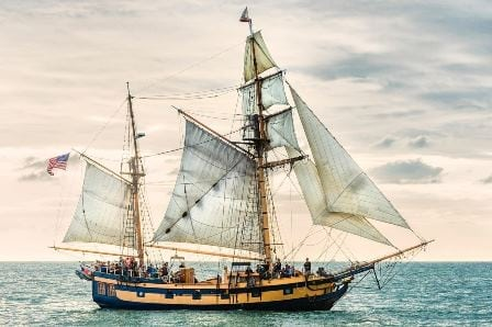 Tall Ship Visit Channel Islands Harbor
