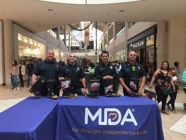 MDA Fill the Boot at The Shops at Montebello
