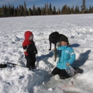 kid-friendly winter sports
