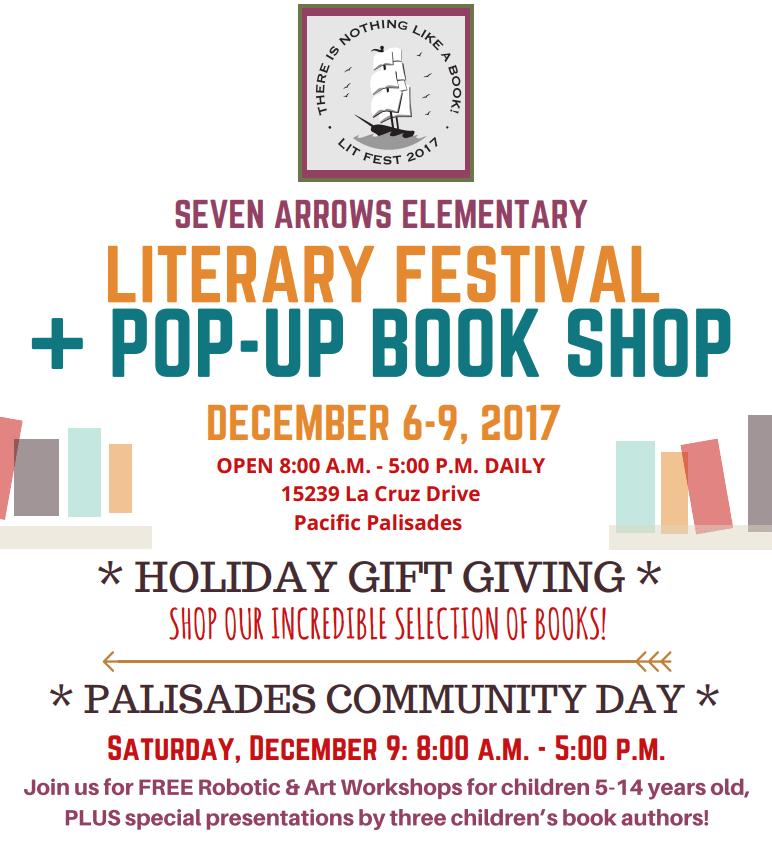 Literary Festival & Pop-Up Book Shop