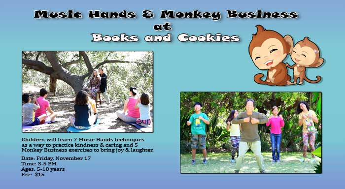 Music Hands and Monkey Business