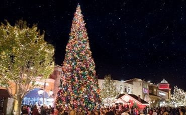 The Promenade at Westlake Christmas Tree Lighting