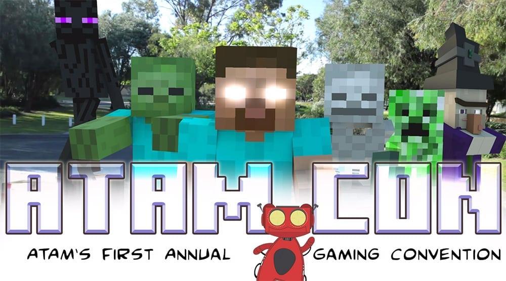 ATAMCon Minecraft Celebration