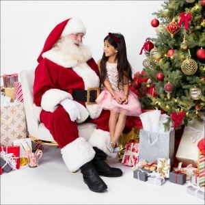 Photos With Santa at Valencia Town Center