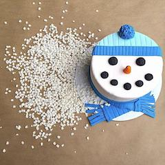 Snowman Cake Decorating Class
