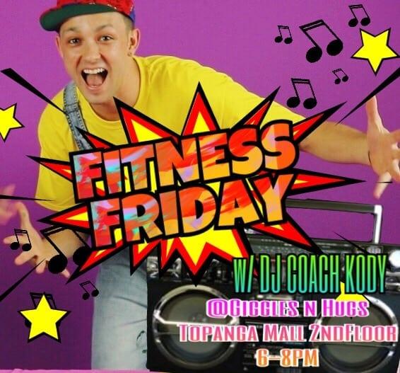 Fitness Friday @ Giggles N Hugs w/Coach Kody