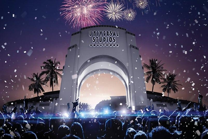 EVE - New Year's Eve Celebration at Universal Studios Hollywood