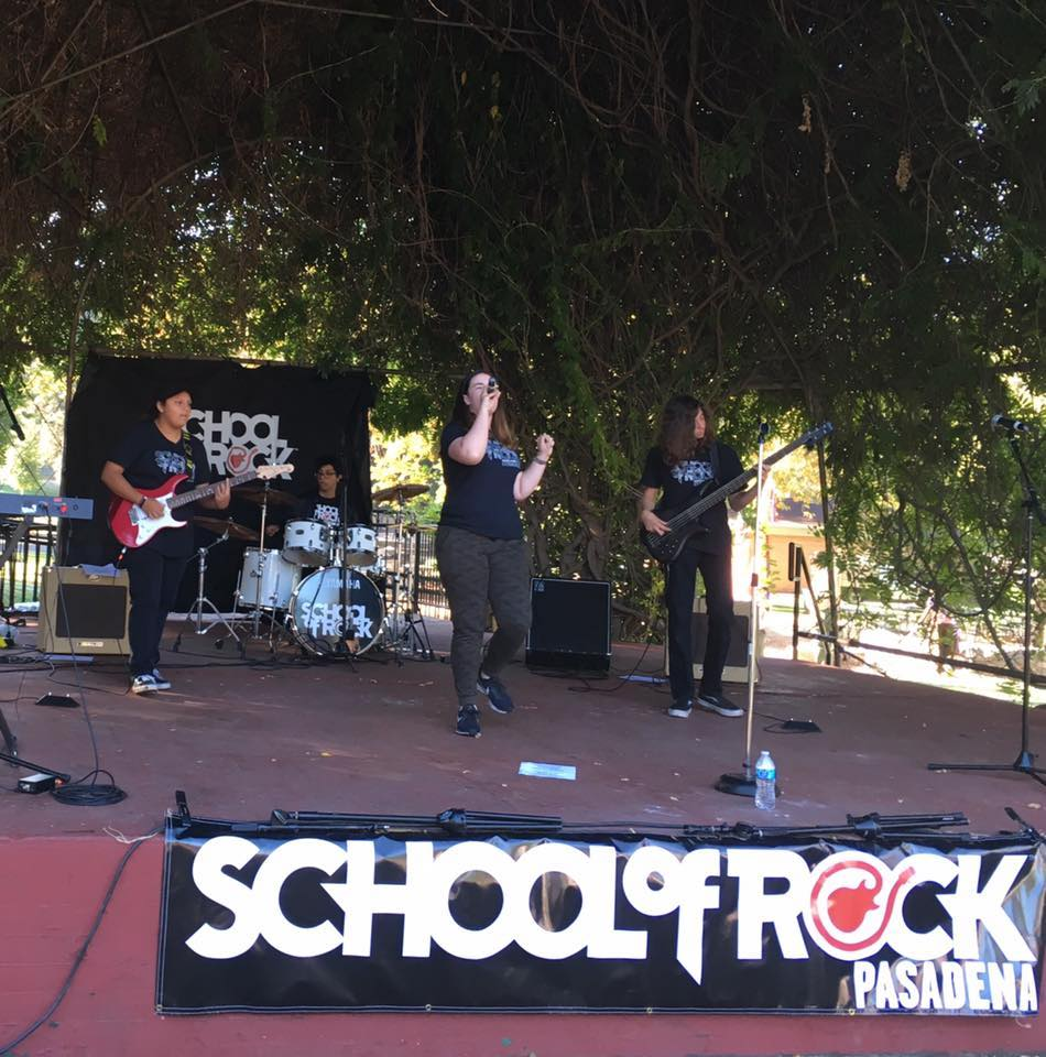 Kidspace's Performance on the Frog: School of Rock