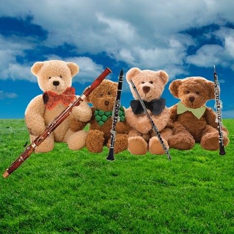 """Teddy Bear Concert """"Meet the Woodwind Family"""""""