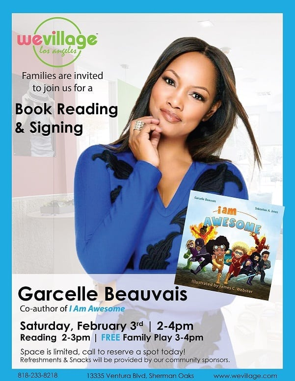 Garcelle Beauvais Book Reading & Signing