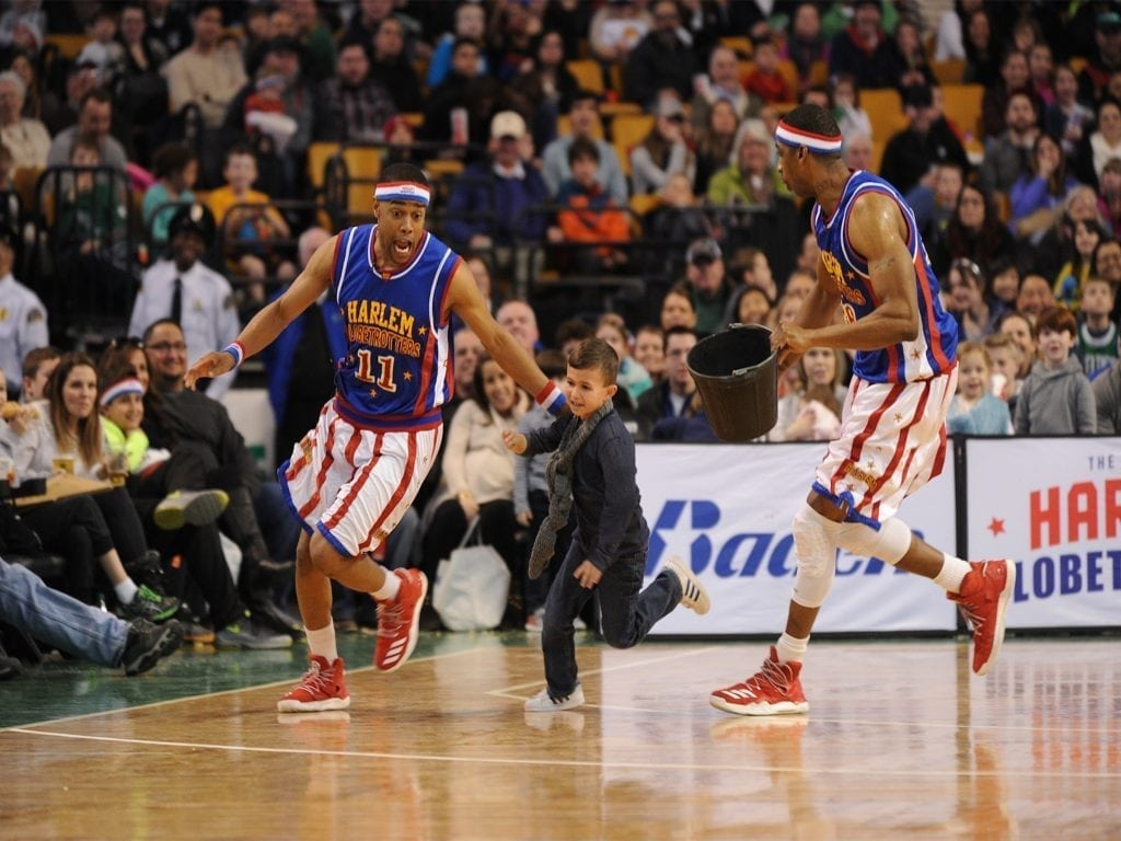 Los Angeles All-stars and Globetrotters