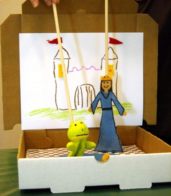 Miniature Puppet Theater Workshop at the Santa Monica Public Library