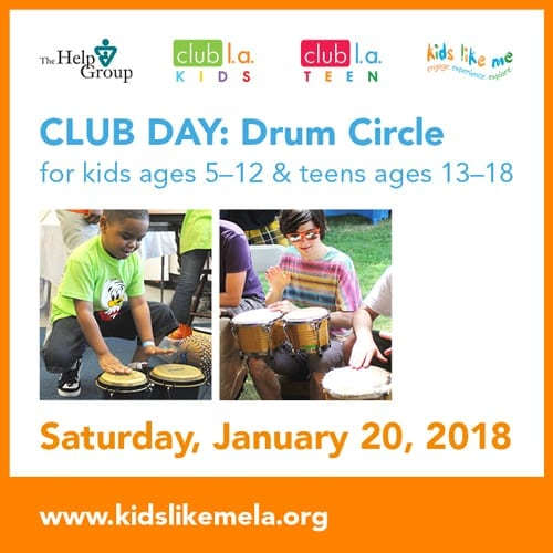 club l.a. KIDS & TEEN Drum Circle Social