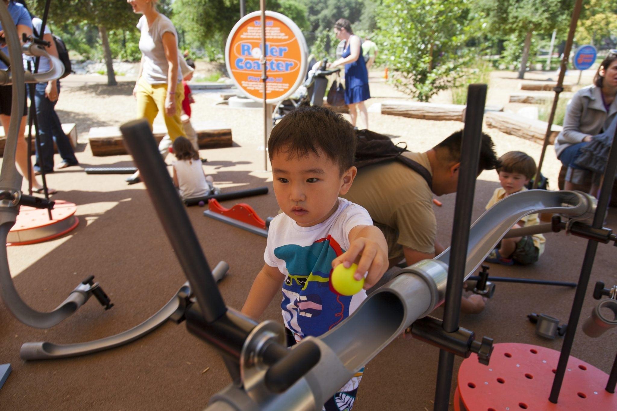 Kidspace Pop-Up Program: Physics of Sports