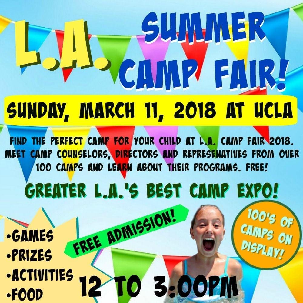 L.A. Summer Camp Fair and Expo 2018