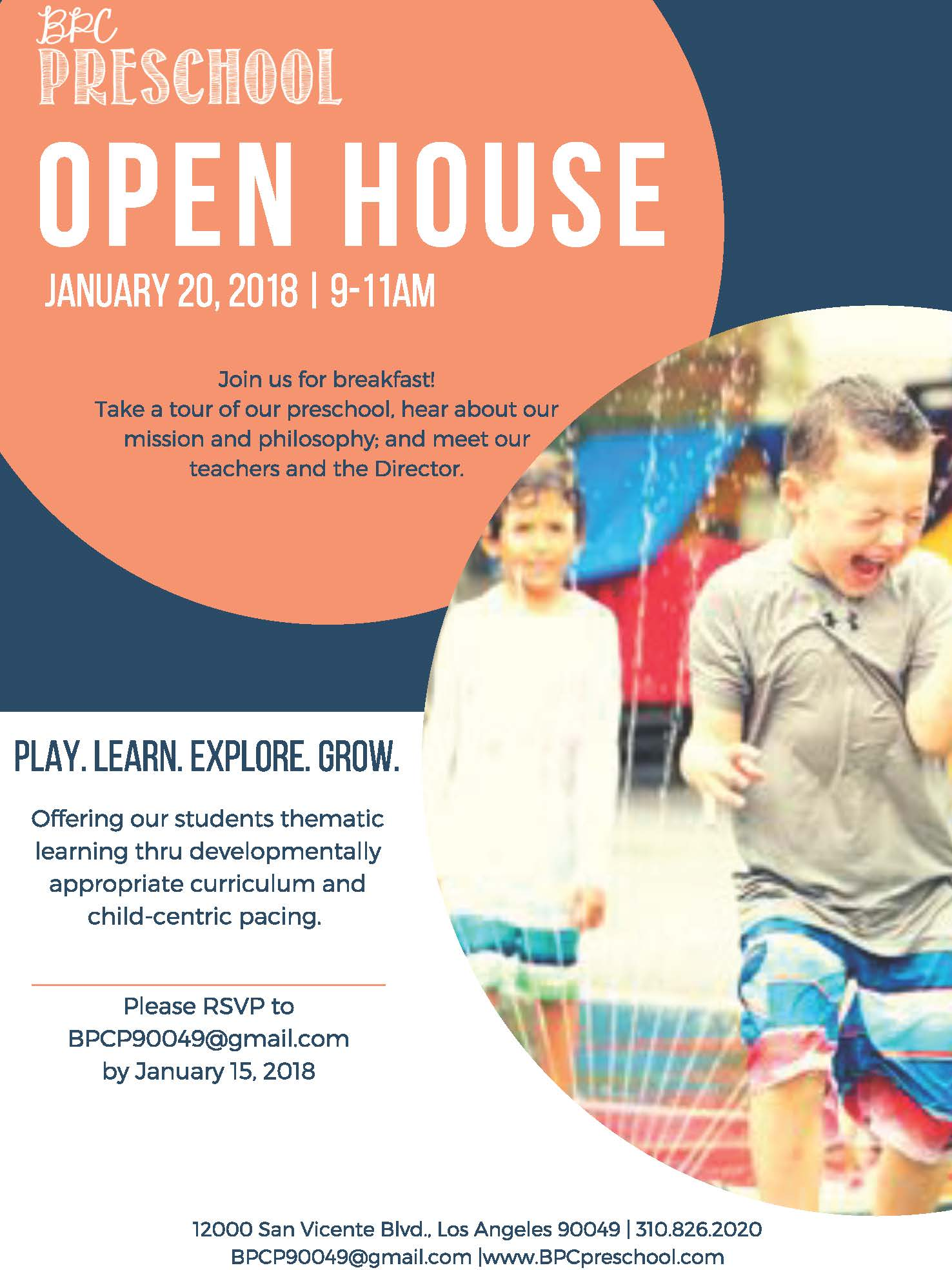 Brentwood Presbyterian Church Preschool Open House