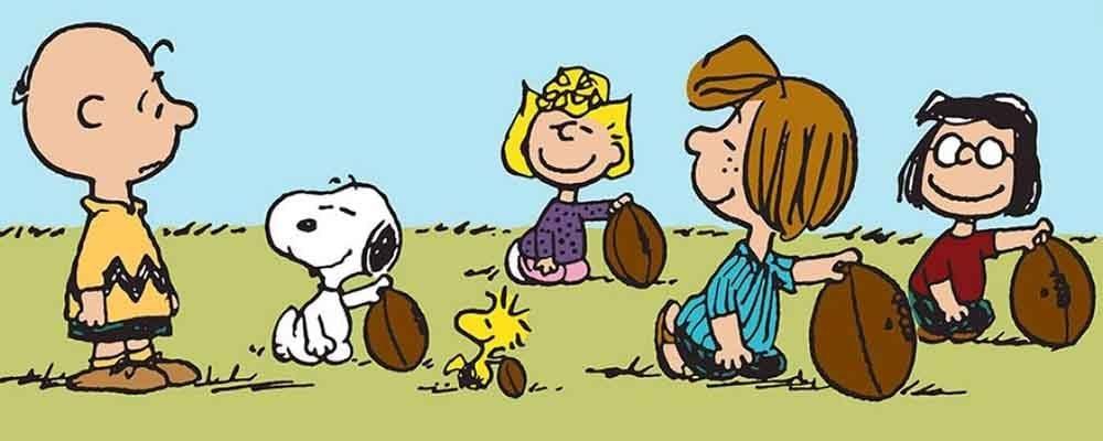Charles M. Schulz's Pigskin Peanuts exhibition