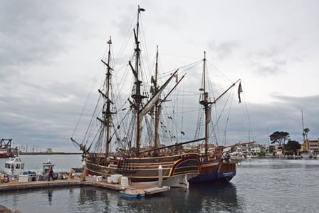 Tall Ships Visit Channel Islands Harbor