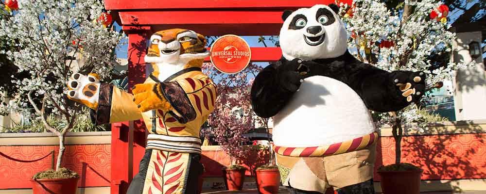 Universal Studios Hollywood's Lunar New Year Celebration