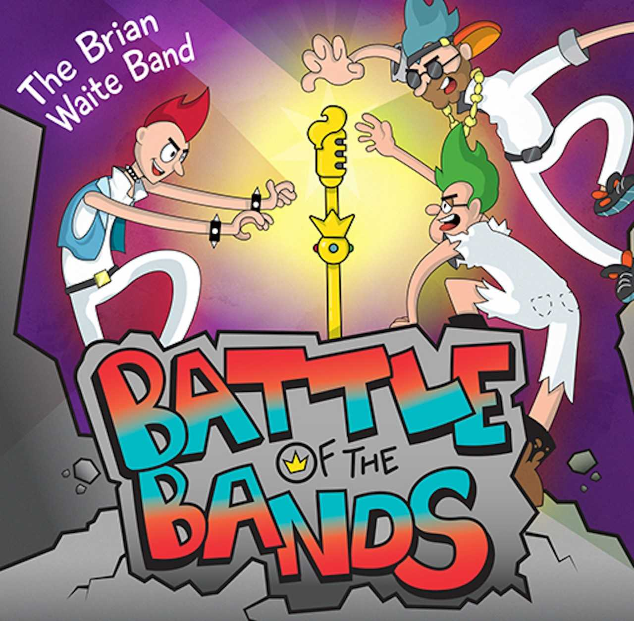 "Brian Waite Band's ""Battle of the Bands"" Family Musical Adventure"