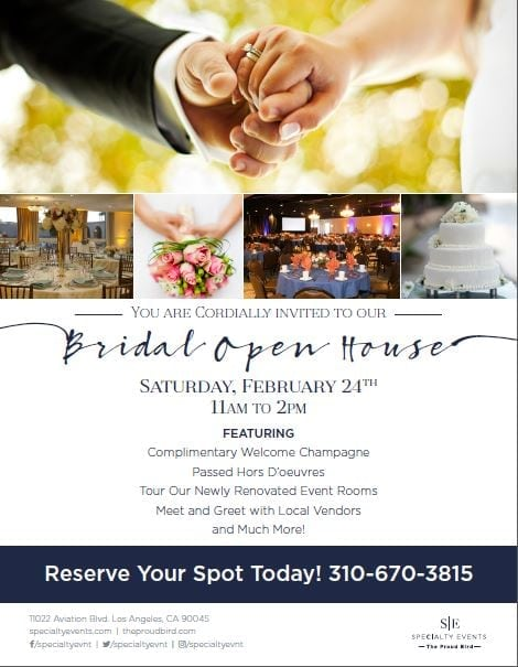 The Proud Bird Bridal Open House