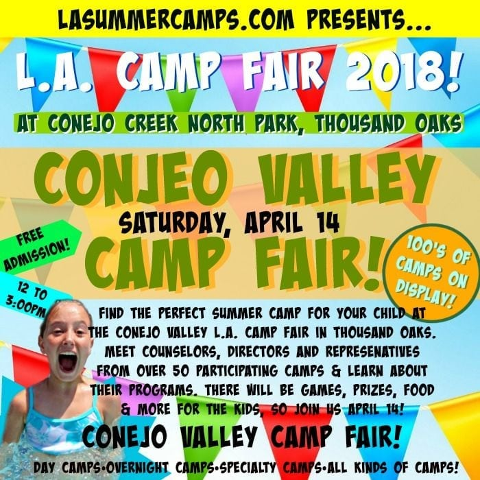 L.A. Camp Fair 2018 at Conejo Creek North Park, Thousand Oaks
