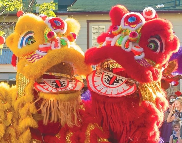 The Original Farmers Market and The Grove's  Lunar New Year Celebration