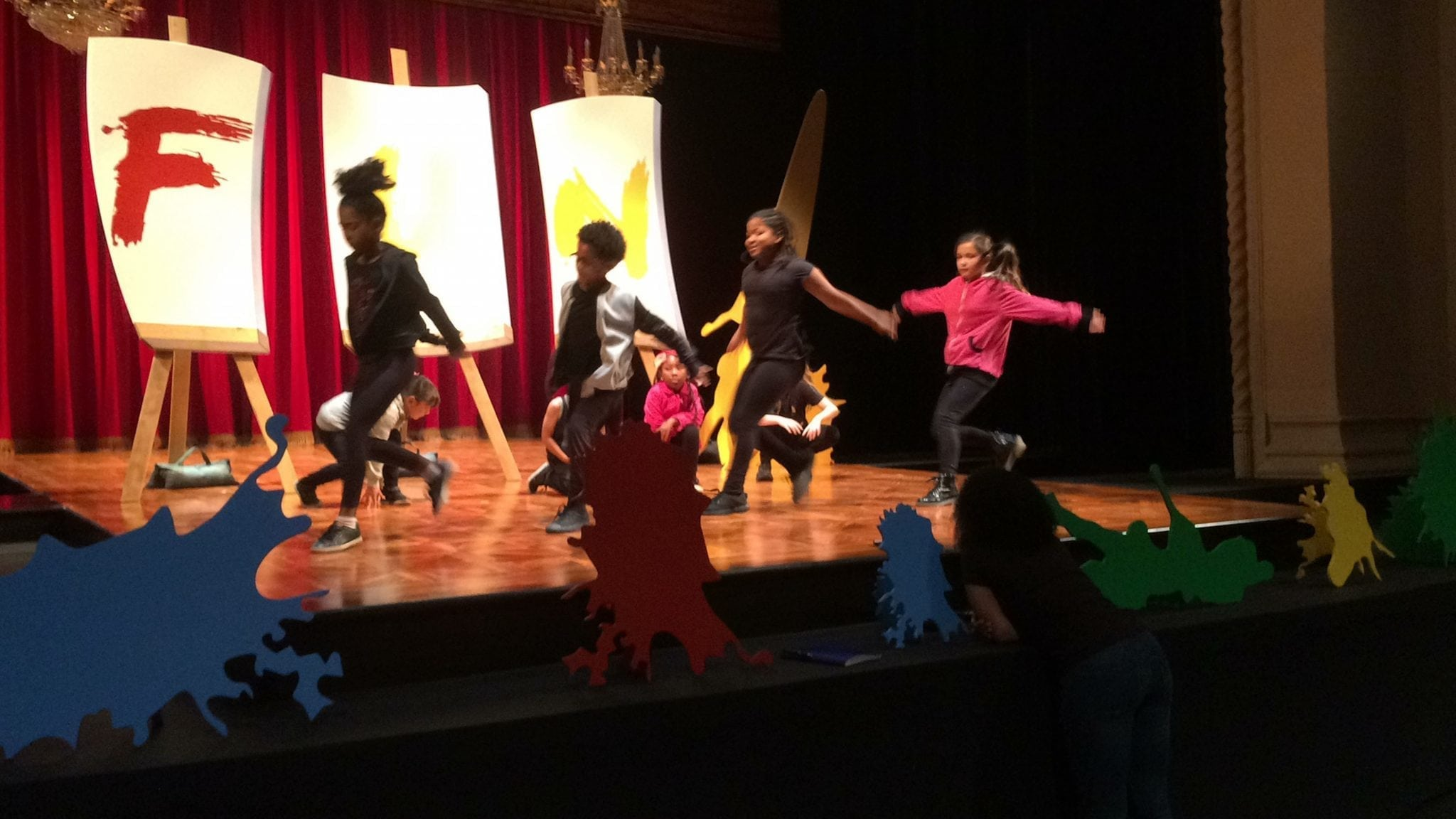 Kidspace's Performance on the Frog: GPAC