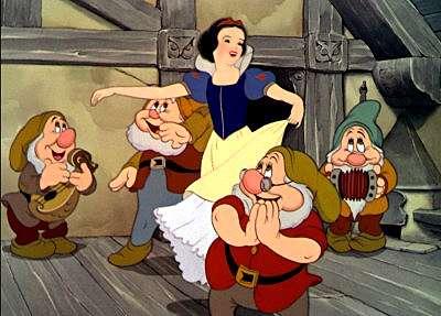 Disney's Snow White and The Seven Dwarfs At The El Capitan Theatre