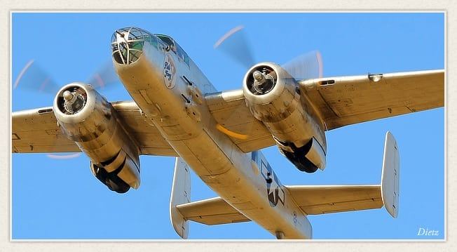 Living History Flying Day: B-25 Mitchell
