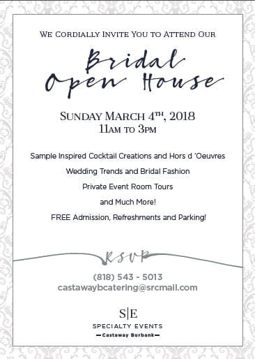 The Castaway Bridal Open House