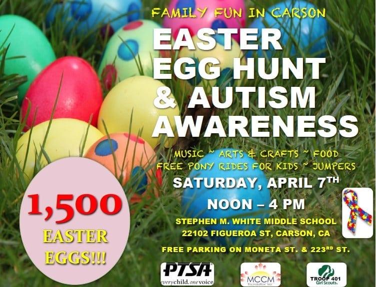Easter Egg Hunt & Autism Awareness