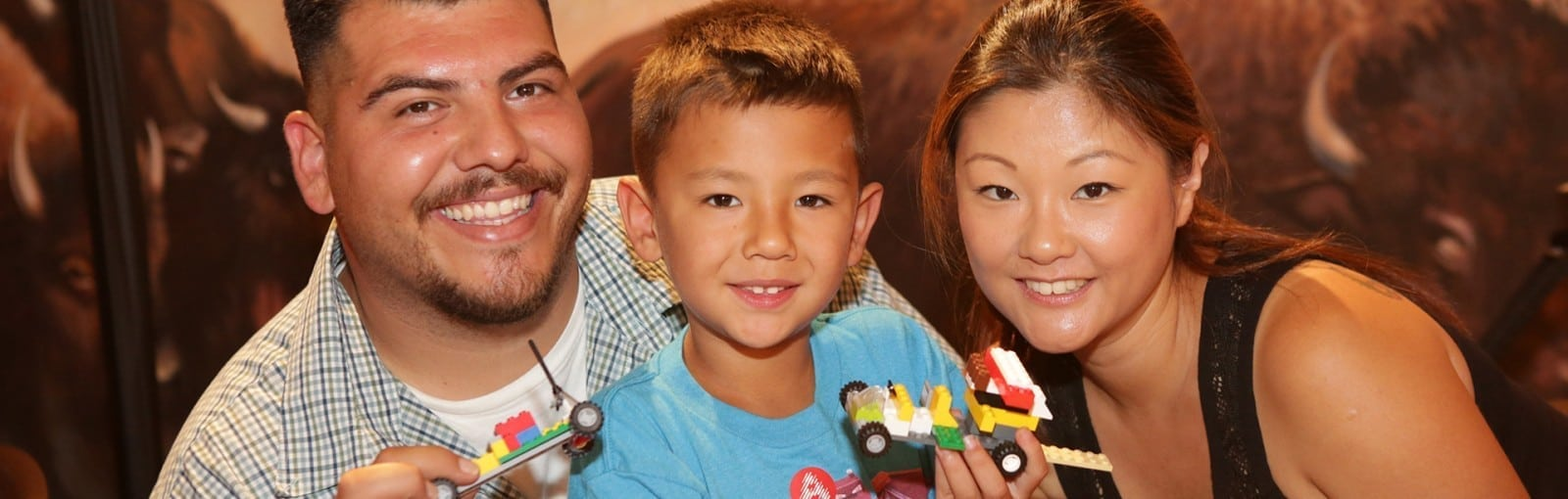 LEGO and Lincoln Logs Playtime at The Autry
