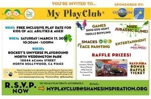 My PlayClub with Universal Studios!