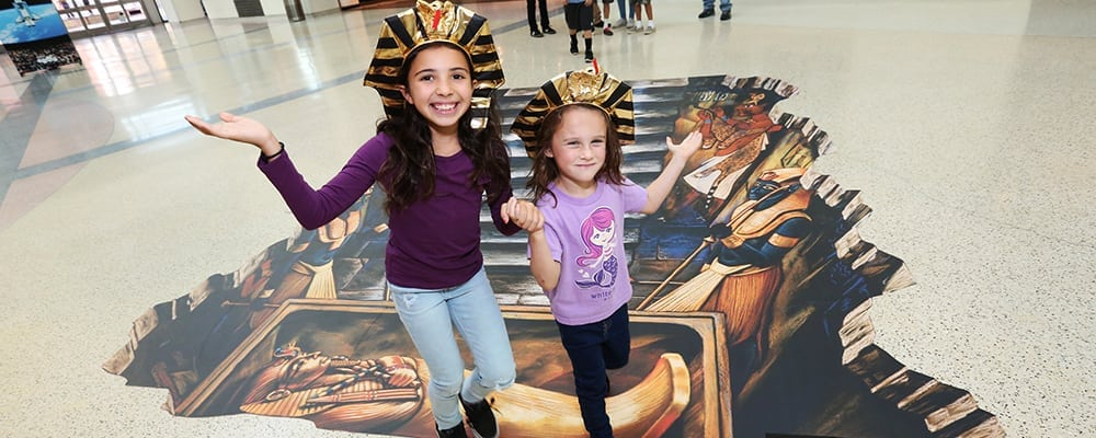 KING TUT: Treasures of the Golden Pharaoh Exhibit