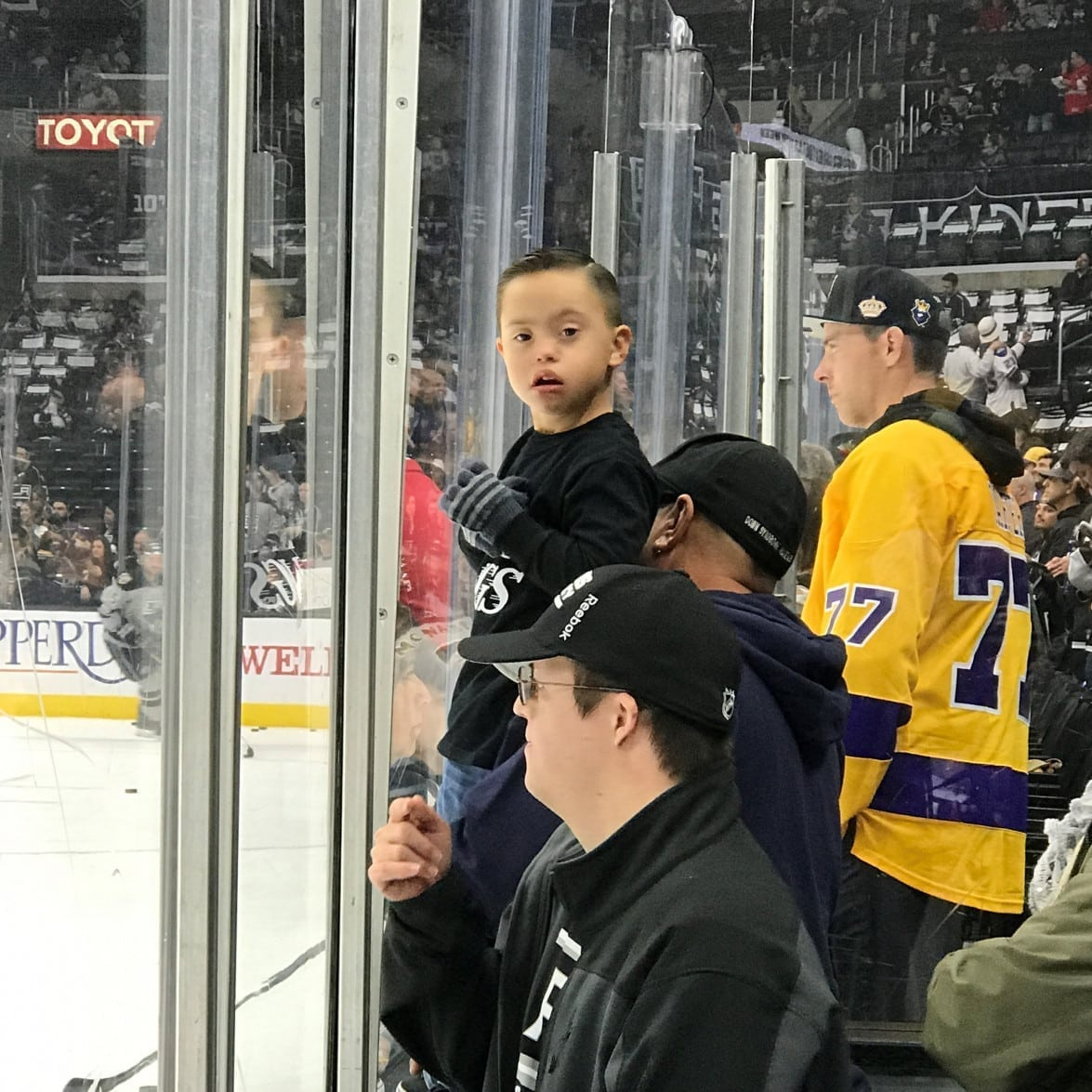 World Down Syndrome Day with the L.A. Kings