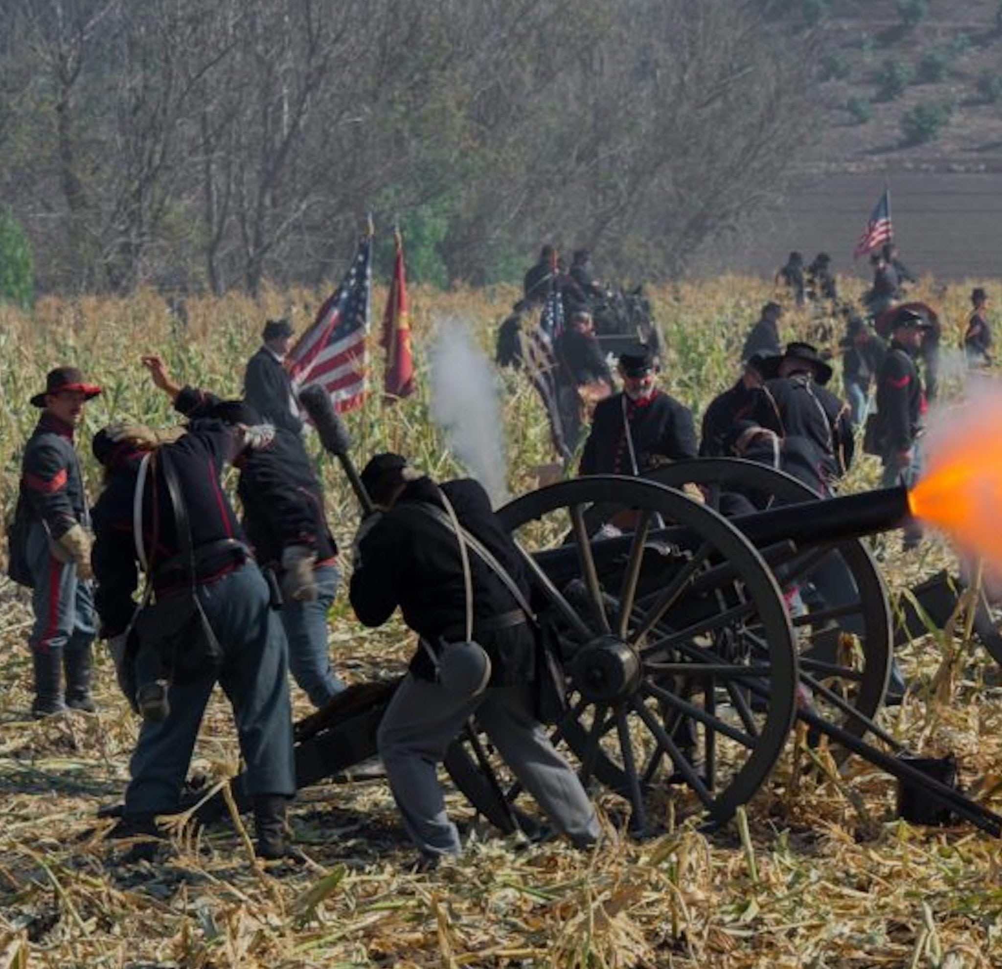 The 17th Annual Blue & The Gray Civil War Reenactment