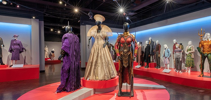 Art of Motion Picture Costume Design Exhibit