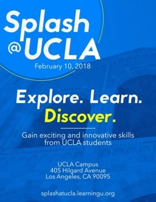 Splash@UCLA Winter 2018