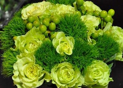 Huntington Children's Flower Arranging: St. Patrick's Day Flowers