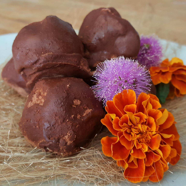 vegan date truffles