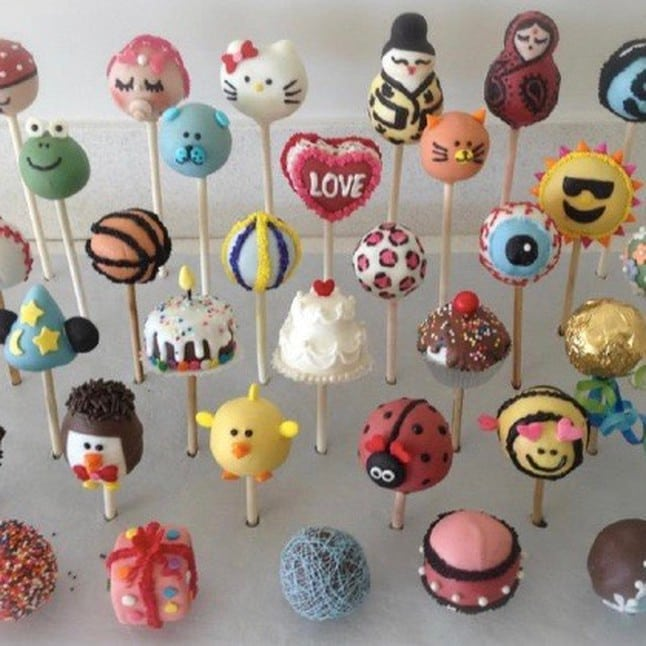 Older Kids: Cake Pops