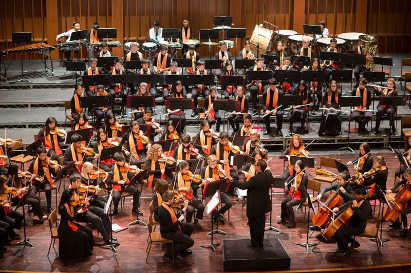 Pasadena Youth Symphony Orchestra & US Air Force Band of the Golden West Concert