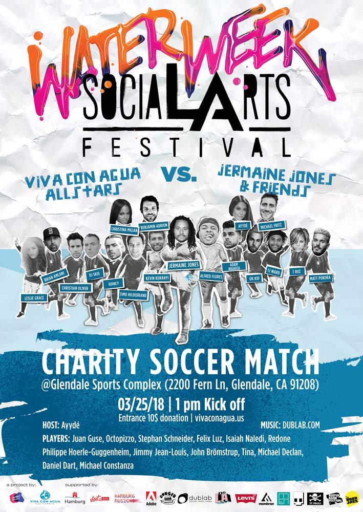 Viva con Agua's Celebrity Soccer Benefit