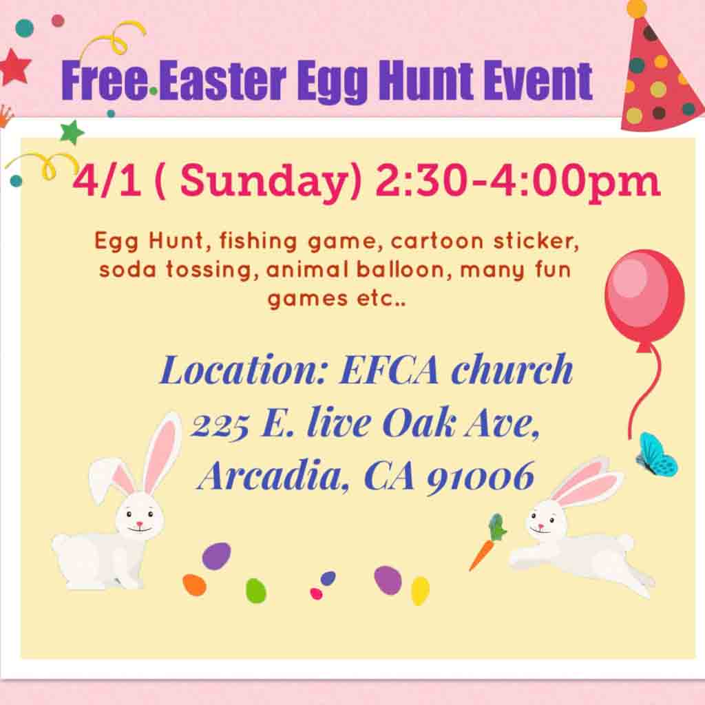EFCA Easter Egg Hunt & Carnival