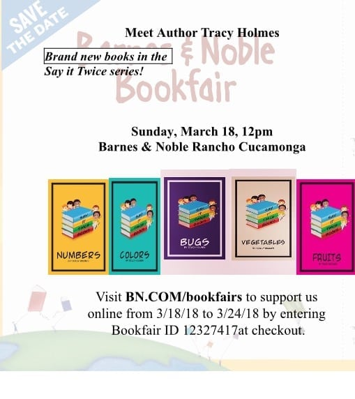 Author Appearance: Tracy Holmes