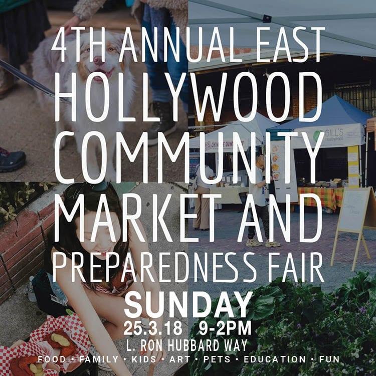 4th Annual East Hollywood Community Market & Preparedness Fair