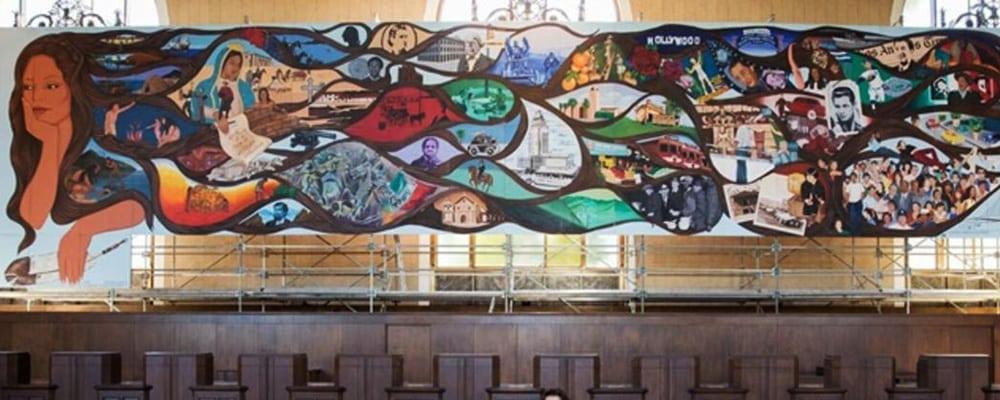Sin Censura: A Mural Remembers L.A.