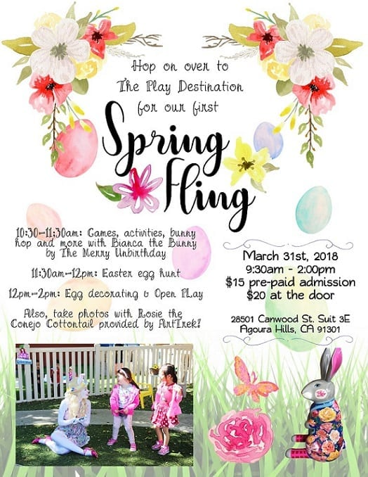 Spring Fling and Egg Hunt with Bianca the Bunny